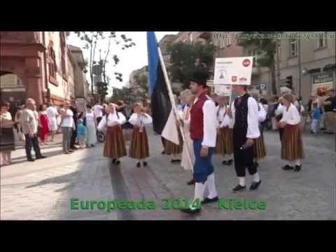 Embedded thumbnail for 51 Europeada 2014 - przemarsz ulicami Kielc